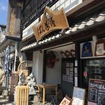 下田康生堂ぱん茶屋 - 店構え(^∇^)