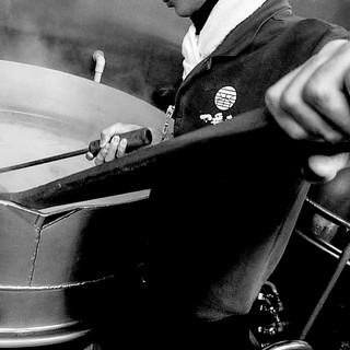 [スープ]35頭の豚骨を長時間炊込み抽出