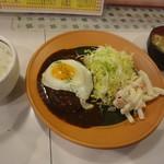 キッチンニュー早苗 - ハンバーグライス