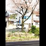 agaru - 窓際の席から川と桜が見えます❤︎
