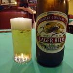 グリル グランド - 瓶ビール650円