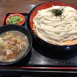 得得 - イベリコ豚つけ麺907円(税込)