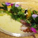 65517467 - ホタルイカと真蛸のサラダ、オレンジソース
