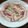 かね福ホルモン焼 - 料理写真:豚カルビ(塩)
