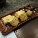 蕎麦きり 一 - 出汁巻玉子