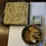 蕎麦きり 一 - 熱汁たぬき