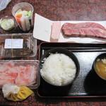 高東旅館 - 料理写真:夕食・調理前