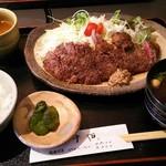レストラン 牛石 - 料理写真:ステーキ定食
