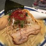 つけ麺や 武双 - 鶏白湯のラーメン