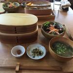 晴耕雨読 - 料理写真:お弁当ランチ ¥1300