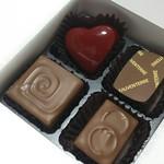 チョコレート工房 クレオバンテール - 4こ購入
