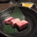NewTon 甲子園 - タンコロステーキ一人前…ちょびっとやけど上品な(゚Д゚)ウマー!(゚Д゚)ウマー!