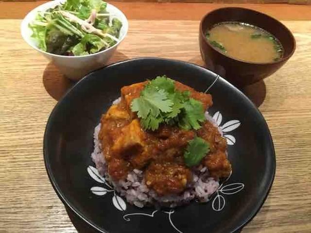 ワ カフェ エイム - 伝説のポークカレー(十五穀米)