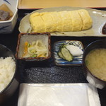 こぶや亭 - 出汁巻き定食、¥950。