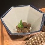 お料理 七草 - 烏賊のワタ和え