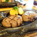 炭焼きレストランさわやか - 料理写真:げんこつハンバーグ