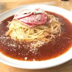 コーヒー&スパゲティ マローネ - 料理写真:ミラネーズ、イタリアンソースをチョイス⤴︎⤴︎750円