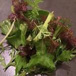 ペペロッソ - 夷隅の野草のサラダ