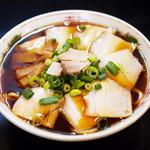 中華そば さるぱぱ - 料理写真:チャーシュー麺(並・太麺)