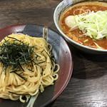 まるの - ベジポタ辛つけ麺(普通 300g) 900円 + 全部乗せ500円
