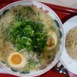 ラーメン魁力屋 - 料理写真:コク旨味玉ラーメン