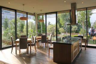 CAFE;HAUS - キッチンからの眺め