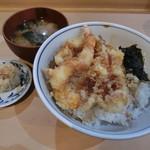 神田 天丼家 - 天丼600円+お新香100円