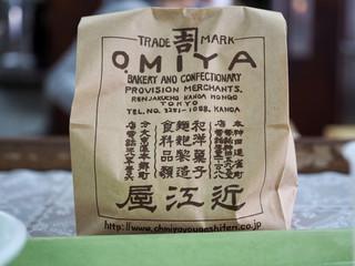 近江屋洋菓子店 神田店 - 紙袋も年季入ってます