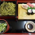 川文 - 茶そばざる定食