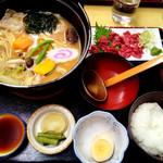 65533096 - ほうとう定食(1800円)