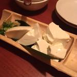 千の庭 HANARE - すくい豆腐