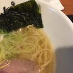 らーめんstyle JUNK STORY - 塩らーめん(720円)スープ