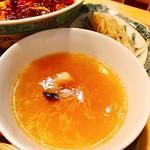 65537322 - このトロミあるスープが結構ドストライクにかるい甘味もあって期待高まるな~♪