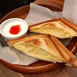 桜屋珈琲館 - たっぷり玉子の温サンド