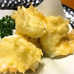 たけとんぼ - モッツァレラの天ぷら