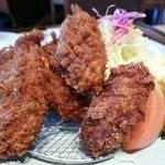 かつ膳 - 今が旬 広島産牡蠣フライ