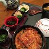 青やぎ - 料理写真:先輩はひつまぶしを締めに選択しました。