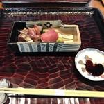 65541204 - お造り                       たまり醤油は島根県松江の五本松醤油