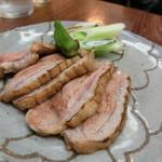 利久庵 - 「鴨の鍬焼き」1,100円