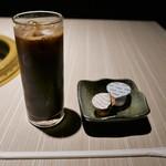 焼肉 霜月 - アイスコーヒー