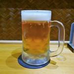 ゴチソウ家 ろぶ村 - 生ビール