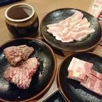 国産牛焼肉食べ放題 肉匠坂井 - 2017年3月 スタンダードコース 3219円