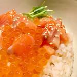 こめらく ニッポンのお茶漬け日和。 - オレンジ色が綺麗です^^