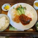 MORE - ハンバーグ定食 ¥830(税抜)