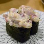 すし市場 正 - ホッキ貝サラダ