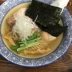 麺処清水 - 鶏だし塩特製らーめん1,000円