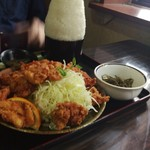 芳味亭 - ご飯も肉も大盛り