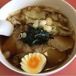幸蘭 - 料理写真:チャーシューワンタンメン