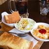 ろうへるん - 料理写真:氷温熟成珈琲(ice)¥400とモーニングA (2017/4現在)パン美味しい