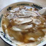 中華そば 一力 - ダブルチャーシュー麺 ¥1600